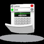 Jablotron BUS-Bedienteil mit Codetastatur
