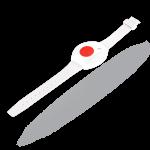 Jablotron Funk-Notrufsender Armband